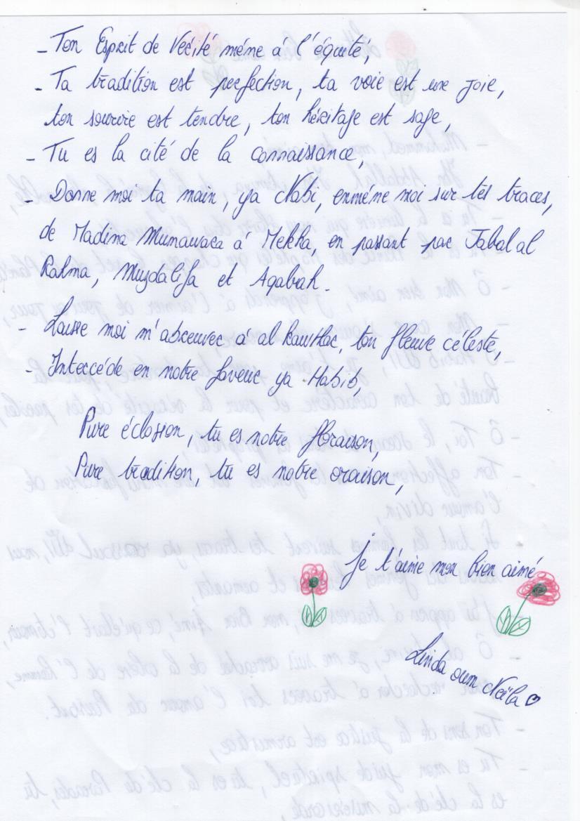 lettre au bien aime - Hind Rawda_Part2